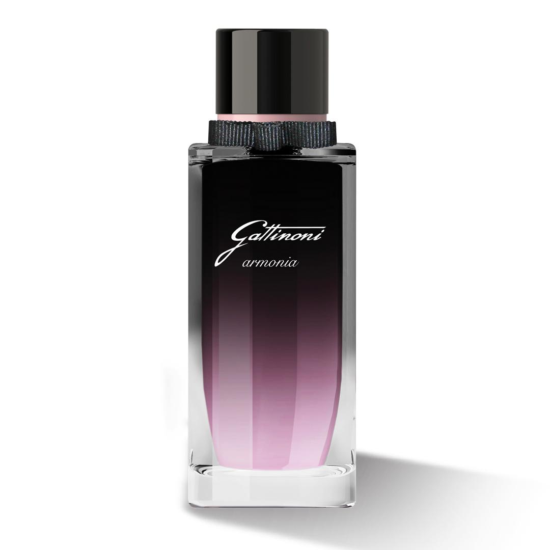 Armonia Eau De Parfume Gattinoni: raffinatezza ed eleganza avvolgente, come una melodia di note fresche accompagnata da toni dolci, sensuali, semplicemente sofisticati.